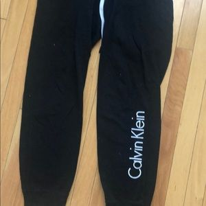 calvin klien sweatpants